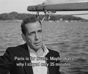 paris, quotes, and lovers image