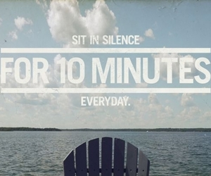 quote, inspiration, and silence image