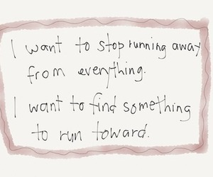 quotes, running, and life image