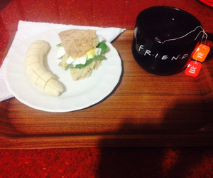 banana, dinner, and spinach image