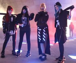 2ne1, minzy, and dara image
