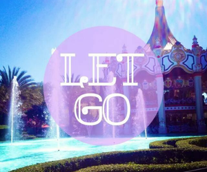 inspire, text, and let go image