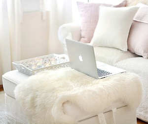 apple, girly, and laptop image