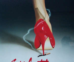 fashion, stiletto, and red shoes image