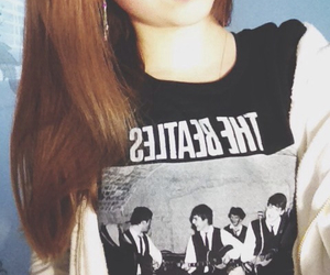 clothing, girl, and the beatles image
