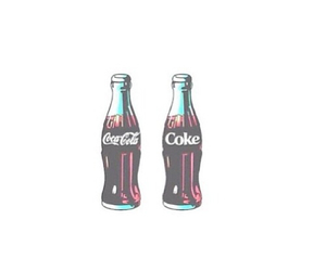 coke, coca cola, and hipster image