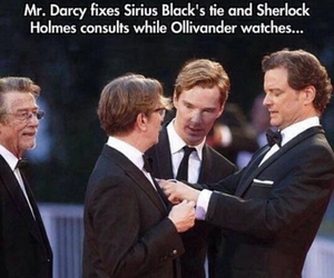 sirius black, harry potter, and sherlock image