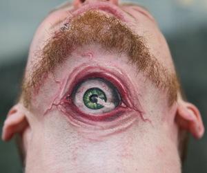 tattoo, eye, and cool image