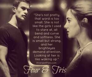 divergent, tris, and fourtris image