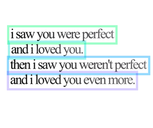 quotes, perfect, and love image