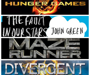 books, films, and divergent image