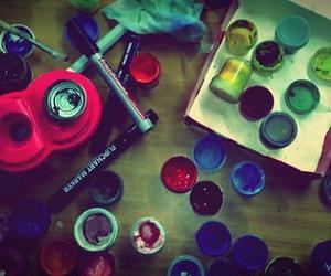 art, brush, and hobby image