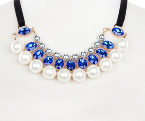 beaded necklace, fashion jewelry, and fashion necklace image