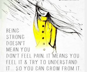 life, strong, and the daily quotes image