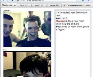 funny, lol, and chatroulette image