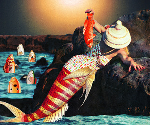 art, mermaid, and eugenia loli image