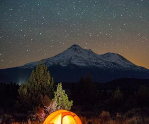 camping, date, and mountains image