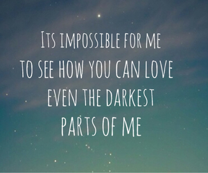 impossible, love, and me image