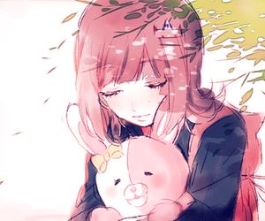 anime girl, girl, and sleep image