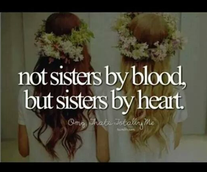 heart, sisters, and love image