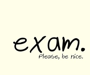 exam, nice, and school image
