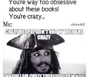 books, crazy, and fandom image