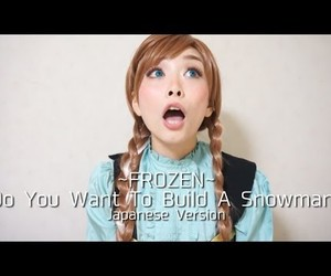 anna, japanese, and frozen image