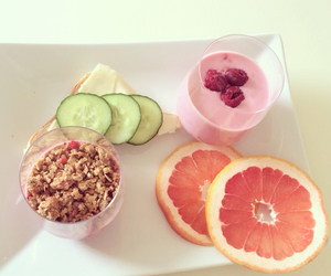 beach, breakfast, and fruit image