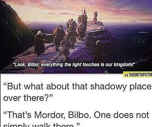 bilbo, lord of the rings, and LOTR image