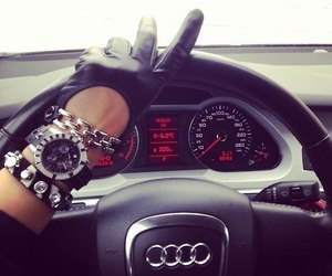 car, rich, and fashion image