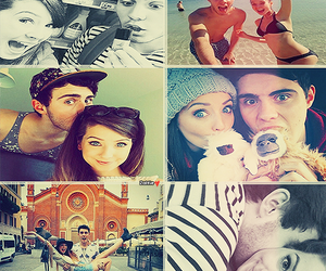 couple, youtube, and zoella image