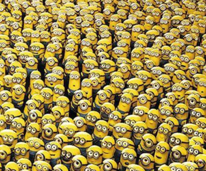 background, lol, and minions image