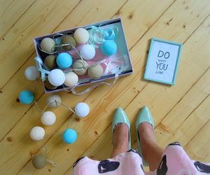 decor, mint, and heels image