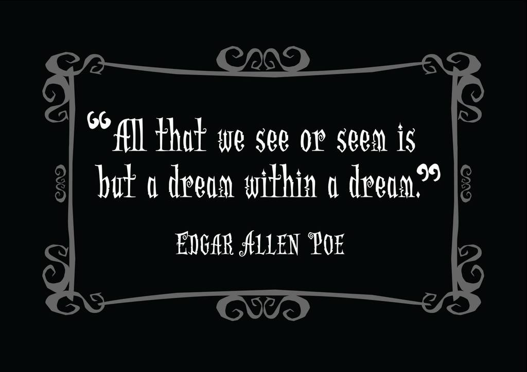 edgar allan poe quotes | Mass Pictures on We Heart It