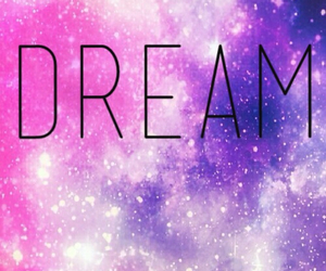 background, Dream, and galaxy image