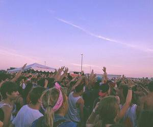 party, summer, and music image