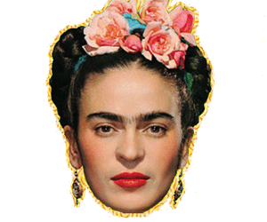 frida kahlo, proud, and transparent image