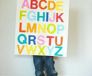 ABC, boy, and child image