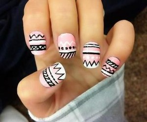 art, nails, and nail art image
