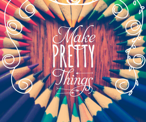 pretty, make, and background image
