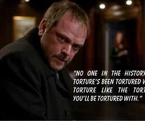 crowley, supernatural, and quote image
