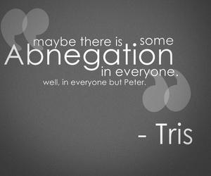 divergent, abnegation, and tris image