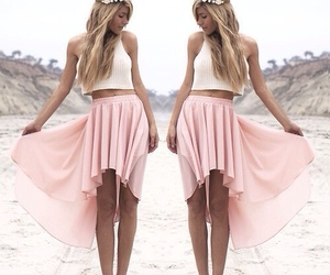 fashion, summer, and pink image