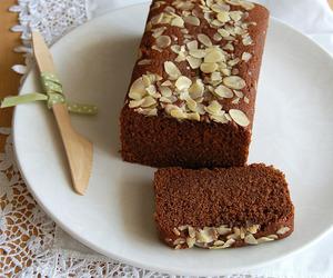 cake, marzipan, and pound cake image