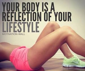 fitness, motivation, and gym image