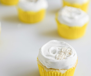 coconut, lemon, and cupcakes image