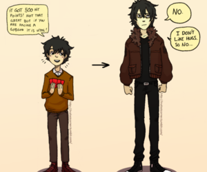 nico di angelo and heroes of olympus image