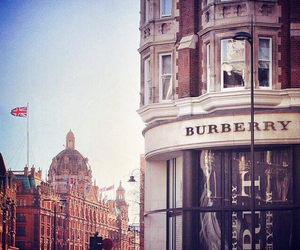 Burberry, knightsbridge, and england image
