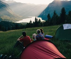 friends, nature, and mountains image