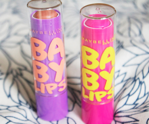 pink, baby lips, and girly image